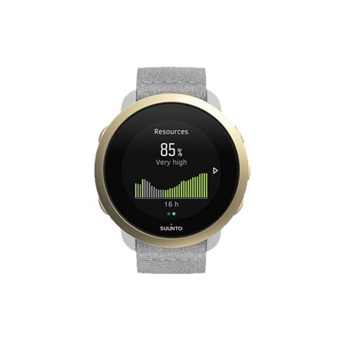 שעון ספורט - SUUNTO 3 Pebble White Light Gold