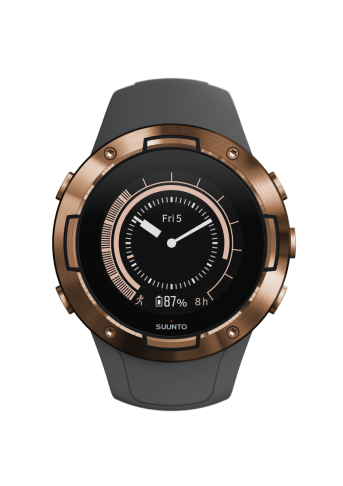 שעון ספורט - SUUNTO 5 Graphite Copper