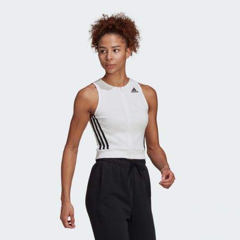 SportsSwear Fitted Fit Ribbed Tank Top מגה ספורט גופיה